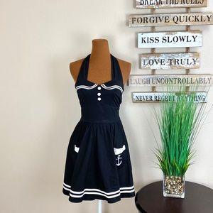 HELL BUNNY | Sailor Dress